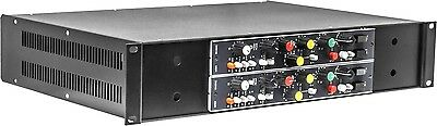 Rackmount Chassis Kit for two vintage M480 Ward-Beck modules