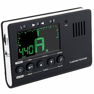 Mugig 3 in 1 Metro Tuner with Larger View and Louder Sound