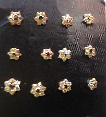 22 ct gold indian nose or ear stud new  x 1 piece flower design  lot 101