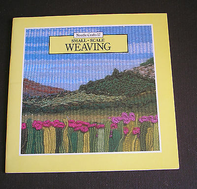 Needle Crafts  Small-Scale Weaving Book