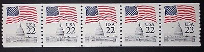 US PNC of 5 Scott # 2115, pl. # 6, MNH