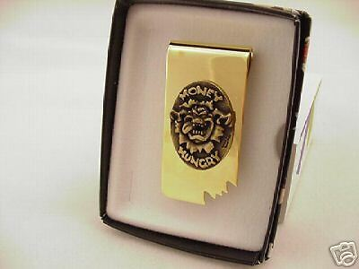 Warner Bros Taz Money Hungry  Money Clip  New In Box !