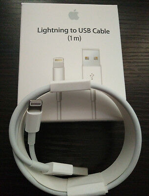 1x Genuine Original Apple Lightning to USB Charge Cable for iPhone 6s/Plus/5/SC