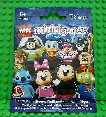 Lego Disney Series Minifigure - Mickey Mouse - New/Sealed #12
