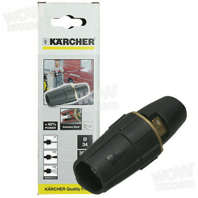 Karcher Triple Jet Pressure Washer Nozzle Black 47671470