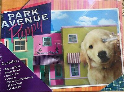 Park Avenue Puppy Stationery set