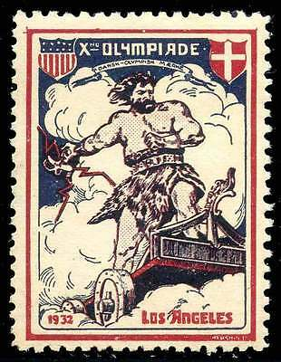 Poster Stamp - Olympics - 1932 Los Angeles - DuBois #18