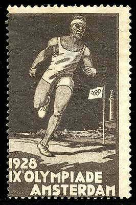 Poster Stamp - Olympics - 1928 Amsterdam - DuBois #1a