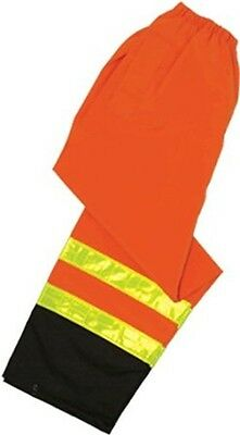 ML Kishigo RWP101-2X-3X Storm Stopper Pro Rainwear Pants Orange 2X-3X