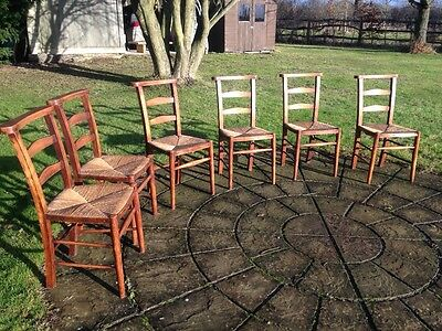 Set of 6 Chapel Chairs