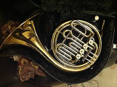 Danor Compensator F/Bb Horn with Hard Case and Mouthpiece. Serviced.