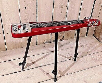 Rogue RLS-1 Lap Steel w / Height Adjustable Legs and Gig Bag! CLEAN! NO RESERVE!