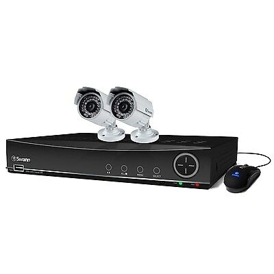 Swann DVR4-4100 4 Channel 960H Digital Video Recorder with 2 x  SWDVK-441002A-UK