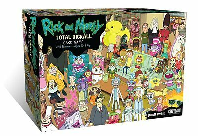 Rick and Morty - Total Rickall Cooperative Card Game * NEW & SEALED *
