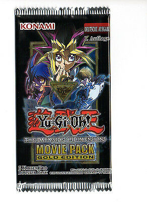 YUGIOH, The Dark Side of Dimensions Movie Pack Booster 1st