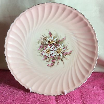 Fine Meissen Quality Hand Painted Floral Porcelain Plate In Vgc