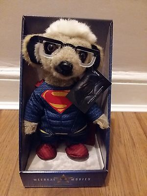 Superman Meerkat Compare The Market Doll Toy, Brand New In Box with Certificate
