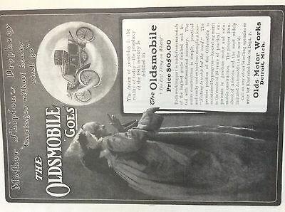 1903 Oldsmobile carfull page ad Mother Shipfon's