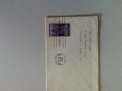 Six Cent Air Mail.  FDC.   Washington DC June 25 1941.    WWII Year