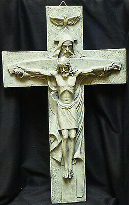 ATRIO   Trinity Cross   Crucifix    H23.5""