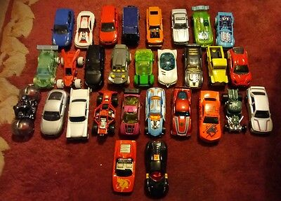 job lot of toy cars good condition