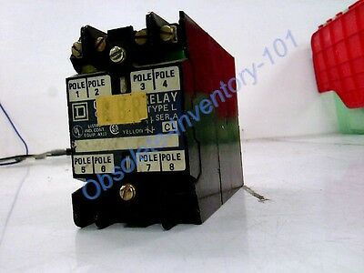 Schneider Electric Relay 110-120Vac Coil 50/60Hz 8P 8501Lo20V02