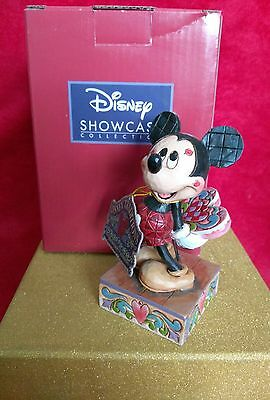 Jim Shore Disney Traditions - Love Struck Mickey With Kisses