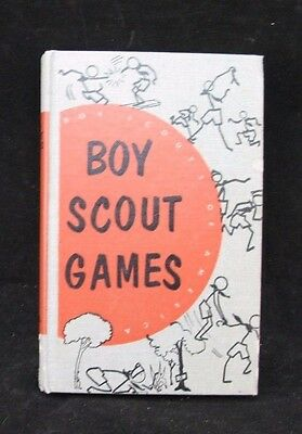 Boy Scout-Boy Scout Games  8/1955 edition for Scoutmasters, etc. -248 pages