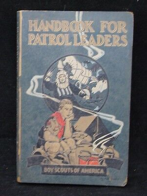 Boy Scout-Boy Scout Handbook for Patrol Leaders Sept 1929 2nd printing 408 pages