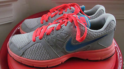 Nike Relentless 2 Multi-Color Leather Women's Running Shoes Size 8