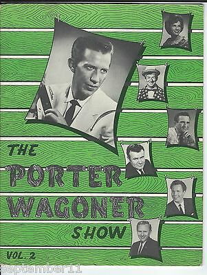 """""""The Porter Wagoner Show"""" Collectors Magazine 1950-60's Lots Of Singers Pictures"""