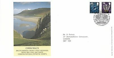 (96755) CLEARANCE GB Wales FDC 78p 48p Bureau 27 March 2007 NO INSERT
