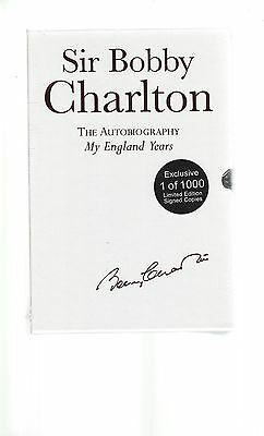 Mint Sir Bobby Charlton Autobiography Limited Edition