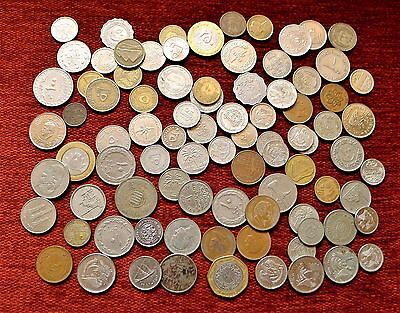 Middle East And/or Arabic Dated Coin Job Lot, Various Nations.