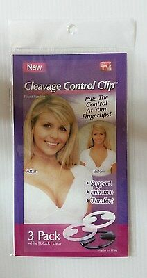 Cleavage Control Clip (3 pack)