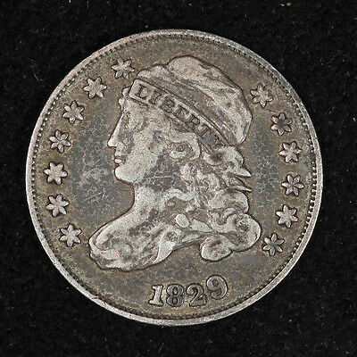 1829 Bust Dime small 10C