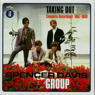Spencer Davis - Taking Out Time: Complete Recordings 1967-1969 [New CD] UK - Imp