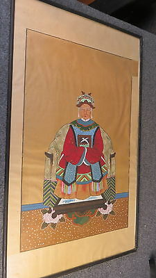 Antique Chinese Ancestral Painting