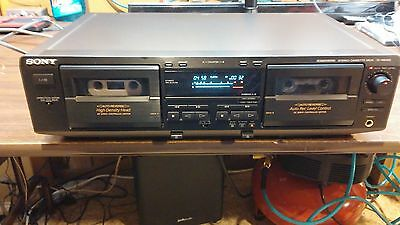 Dual Cassette Deck Sony Auto Reverse Tc-We425, Fully Serviced, New Belts, Manual