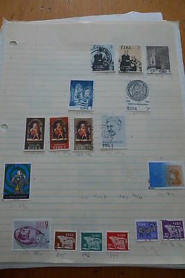 Ireland Small Collection In 3 Pages Lot # 4