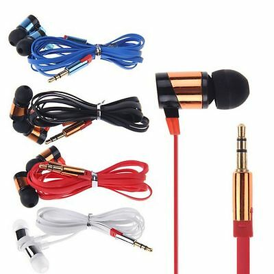 For IPhone Samsung CellPhone MP3 MP4 IPod PC In-Ear Headphone 3.5mm Earphone