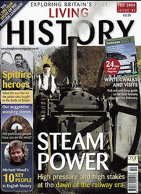 LIVING HISTORY Magazine February 2004 (Issue 11) - STEAM POWER Cover