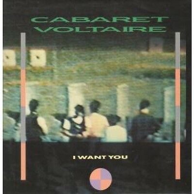 "CABARET VOLTAIRE I Want You 12"" VINYL UK Virgin 1985 3 Track B/W Drink Your"