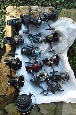 Huge Lot Vintage Fishing Reels  Some Need Repair, For   Parts Lot  #2