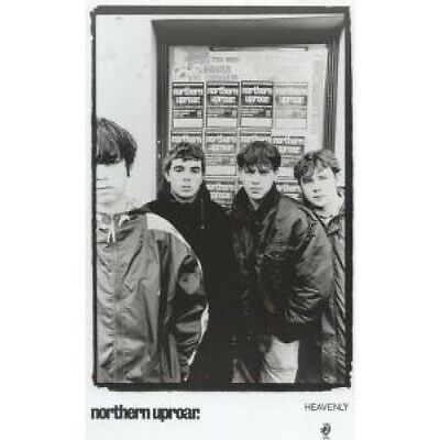 NORTHERN UPROAR Group Picture PHOTOGRAPH UK Heavenly B/W/Promo Photo Of Group