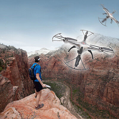 X5HW 6-Axis Quadcopter Drone WIFI 2.0 MP HD Camera FPV RC Drone Helicopter