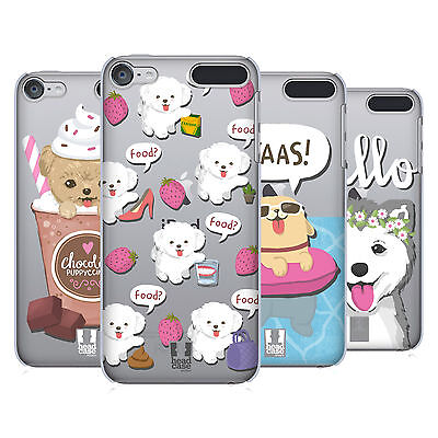 HEAD CASE DESIGNS LIL PUPPIES HARD BACK CASE FOR APPLE iPOD TOUCH MP3