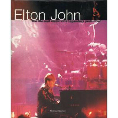 ELTON JOHN Life And Music Of A Legendary Performer BOOK Italian Colour Library