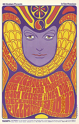 MINT Grateful Dead Big Mama 1966 BG 41 Fillmore Poster
