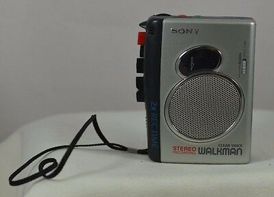 Sony Pressman TCS-30D Handheld Cassette Voice Recorder TESTED FAST-FREE SHIPPING